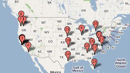 Google US Data Centers